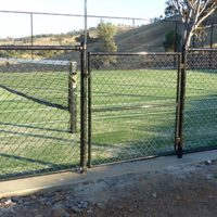 Tennis Court Fencing - Albury Wondonga